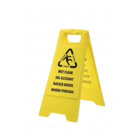 Euro Wet Floor Warning Sign